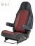 Sportscraft Captain Seat S10.1 Seat Trimmed in standard fabric with lumbar support