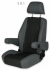Sportscraft Captain Seat S8.1 Standard fabric & VW Tasamo with adjustable  armrests w/lumbar support