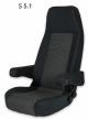 Sportscraft Captain Seat S5.1 Standard Fabric & VW Tasamo with adjustable armrests w/lumbar support